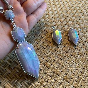 Kendra Scott Necklace & Earring Set